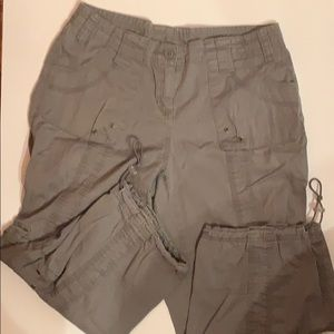 Style and Co Capri shorts size 4p
